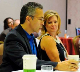 Dr. Steve Stylianos and Sue Zeigfeld